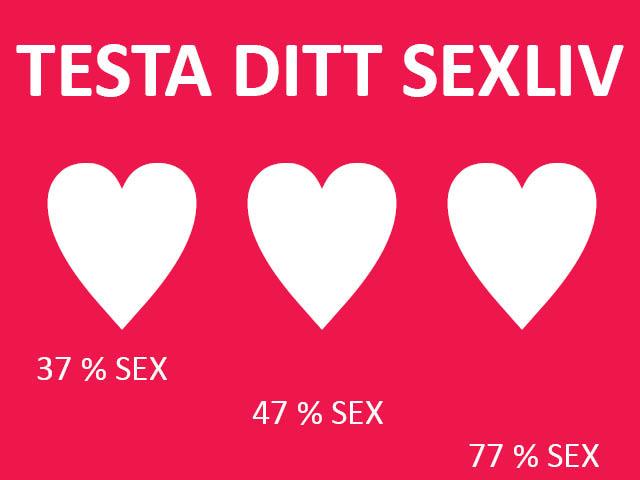 sextest, illustrerad vetenskap, sex